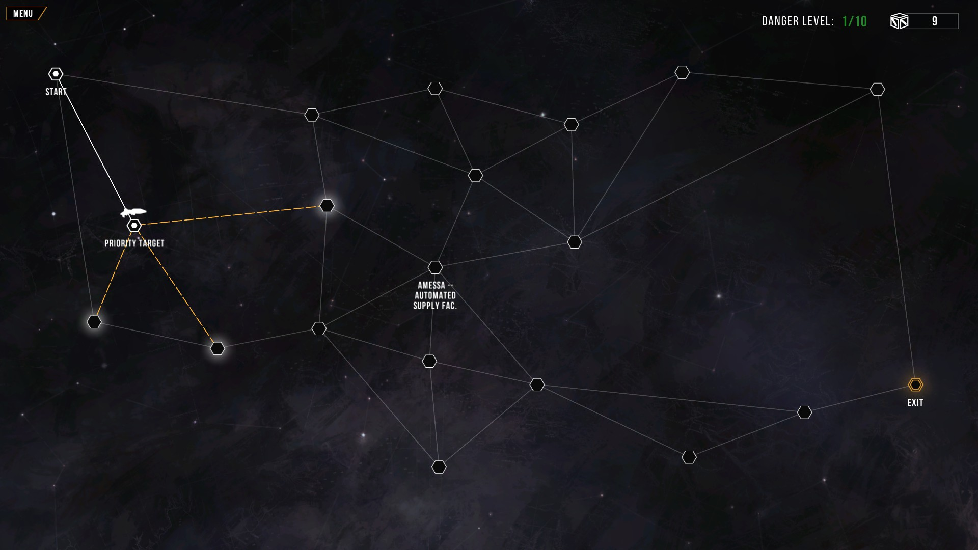 Distant Star: Revenant Fleet - Sector Map