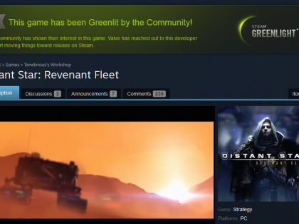 We've been Greenlit!
