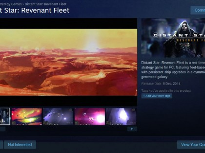 Distant Star: Revenant Fleet on Steam Early Access