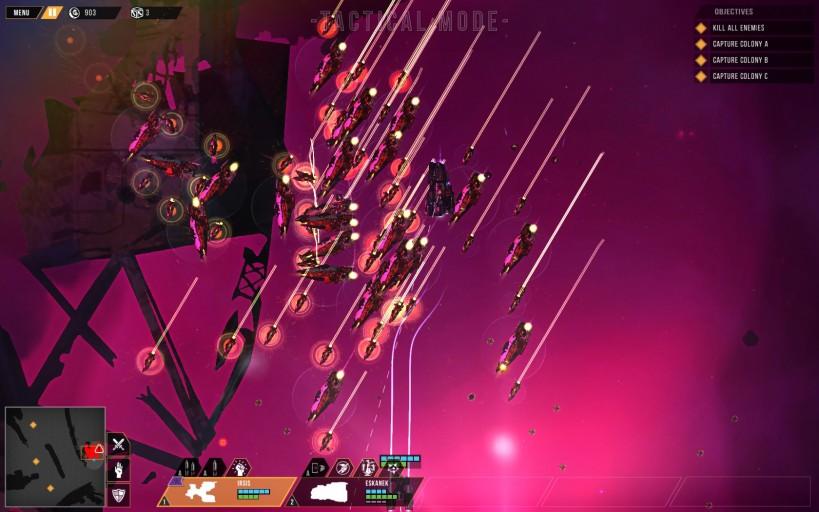 Orthani Fleet Attacking