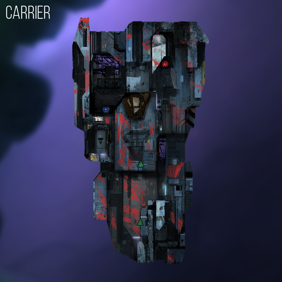 A'Kari Carrier Ship
