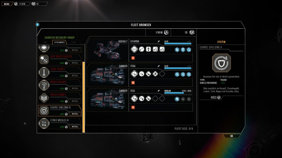 Distant Star - Weapon Stats